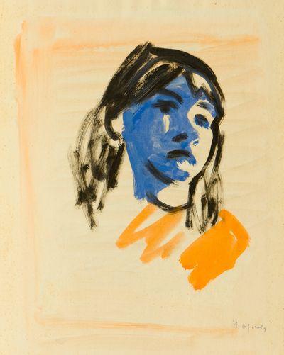 Portrait of the Girl. Natalia Orlova