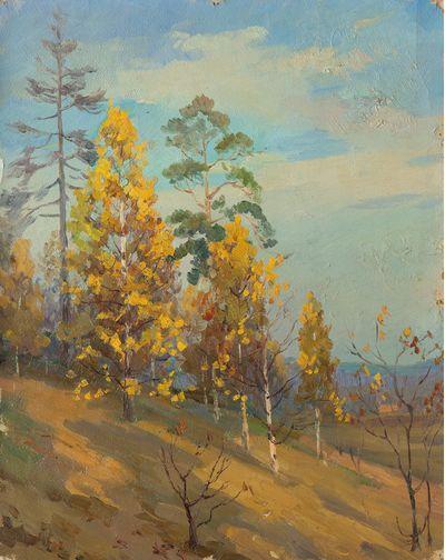 Autumn Landscape. Evgeny Bitkin