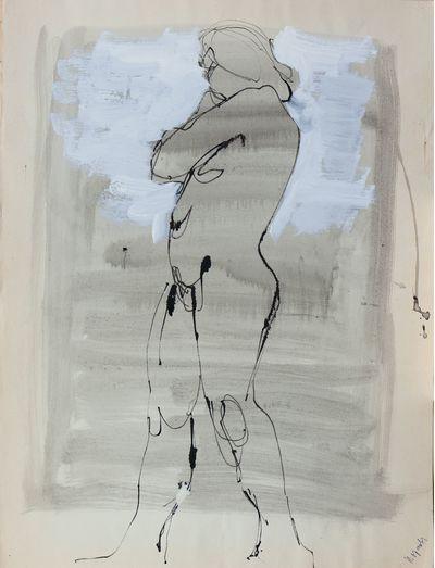 Sketch of Nude Girl. Natalia Orlova