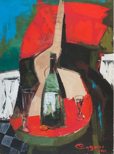 Still life with a Bottle. Still life with a Bottle. Vadim Sokolov
