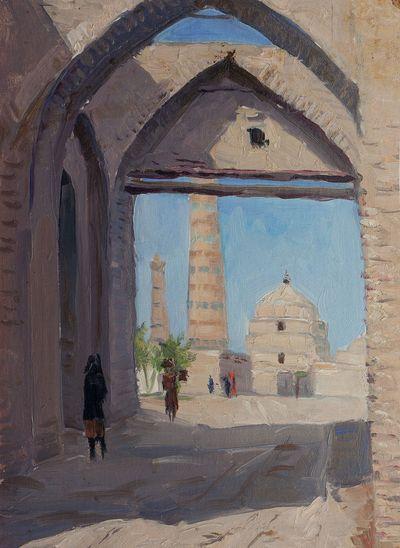 Bukhara. Mikhail Kuznetsov
