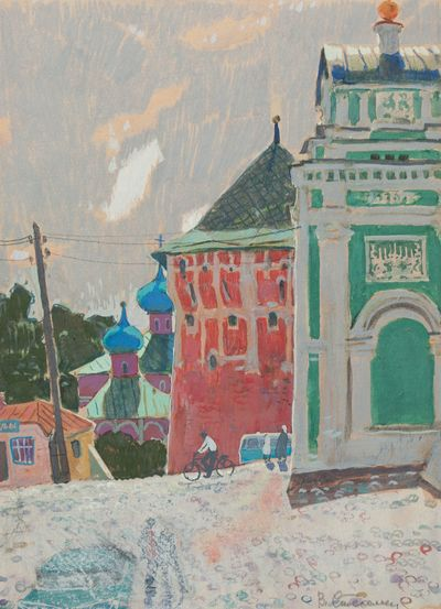 Gates to the Holy Trinity-St. Sergius Lavra. Stekolschikov Vyacheslav