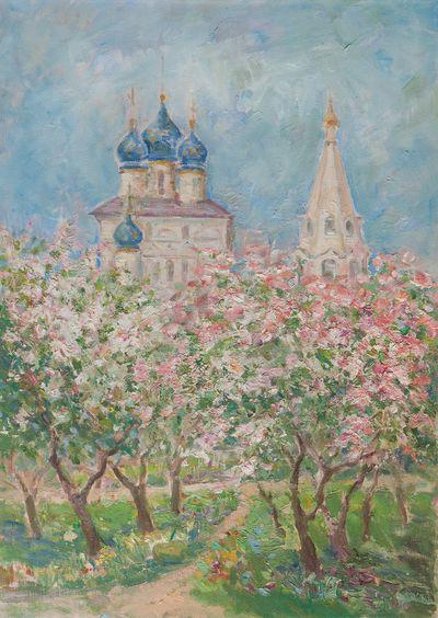 Цветение в Коломенском. Наталья Соколова