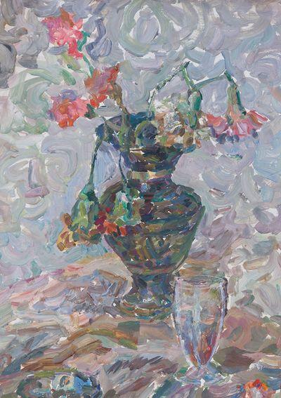 Green Vase. Inna Mednikova