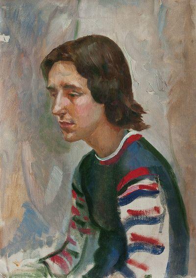 A Portrait. Unknown artist
