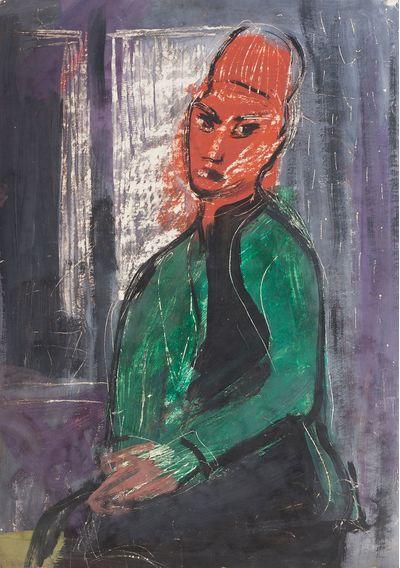 A Woman near the Window. Inna Shmeleva
