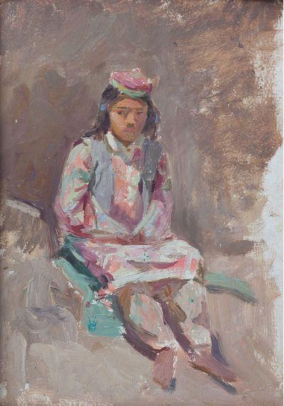 Таджикская девочка на солнце. Клара Власова