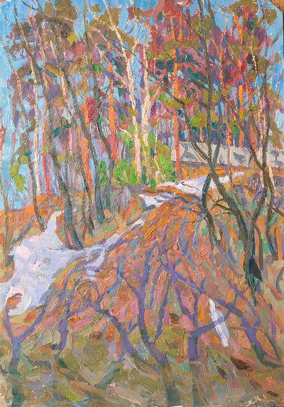 Красные деревья. Виктор Котов