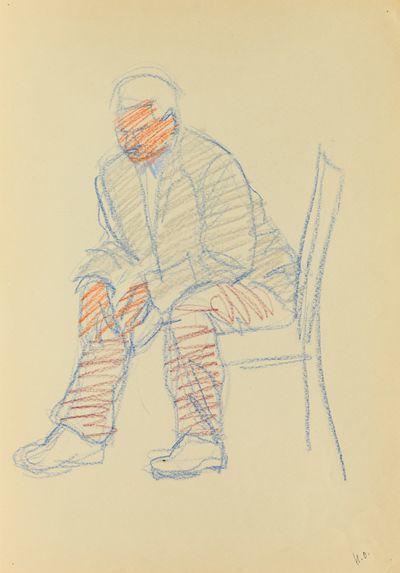 Man on the Chair. Natalia Orlova