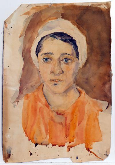 Портрет девушки. Инна Медникова