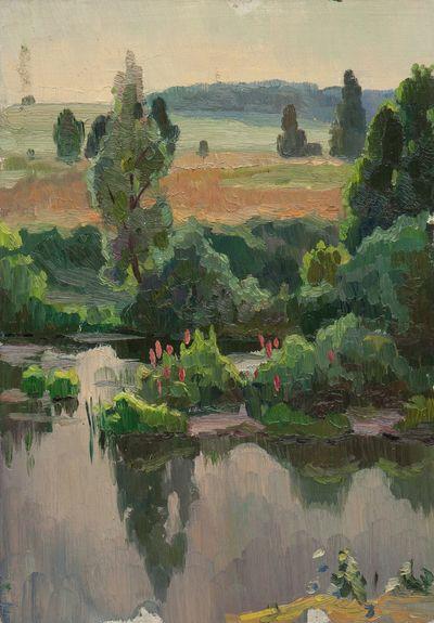 Summer Landcsape. Evgeny Bitkin