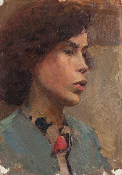 Portrait of a Woman. Inna Mednikova