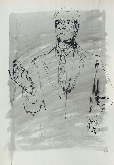 Portrait of a Man. Natalia Orlova