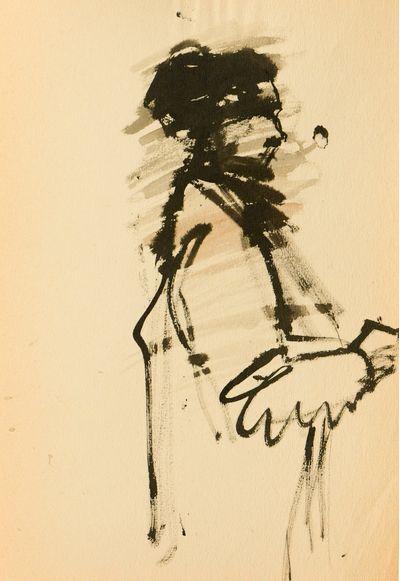Woman in Profile. Natalia Orlova