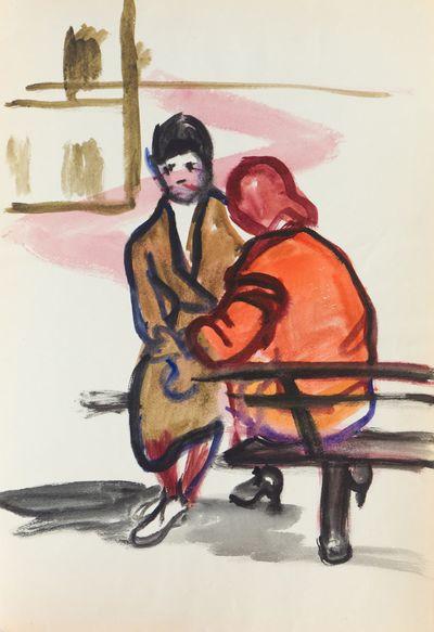 On the Bench. Natalia Orlova