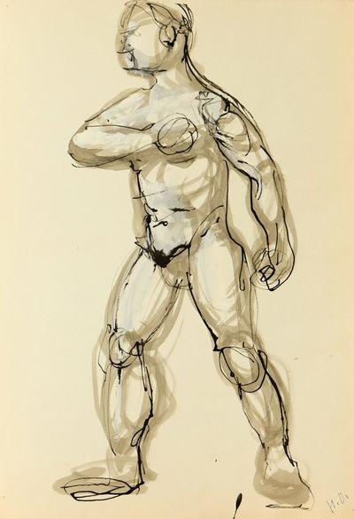 Sketch of a Man. Natalia Orlova