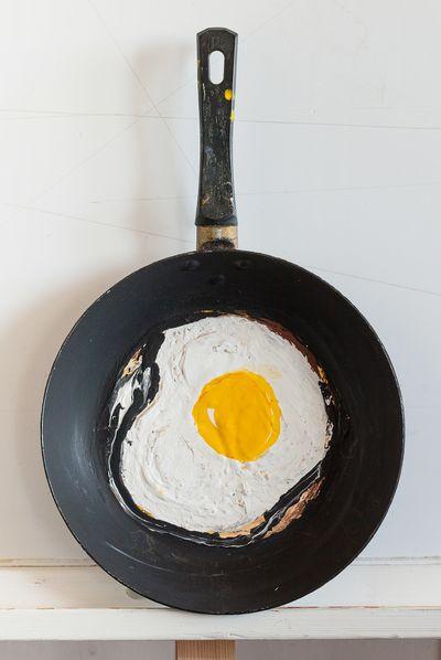 "Art object ""Scrambled egg"". Vadim Sokolov"