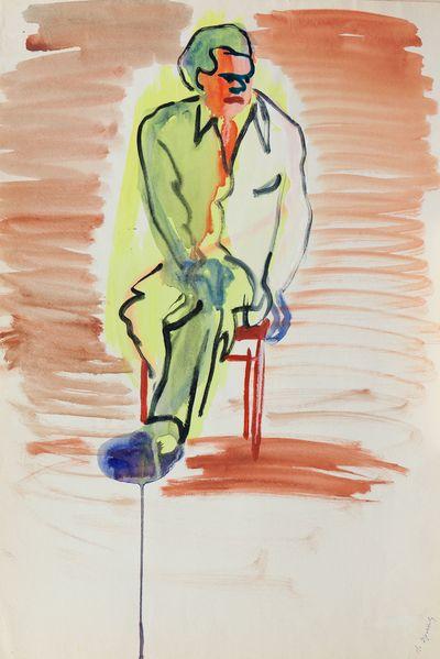 Man's Portrait. Natalia Orlova