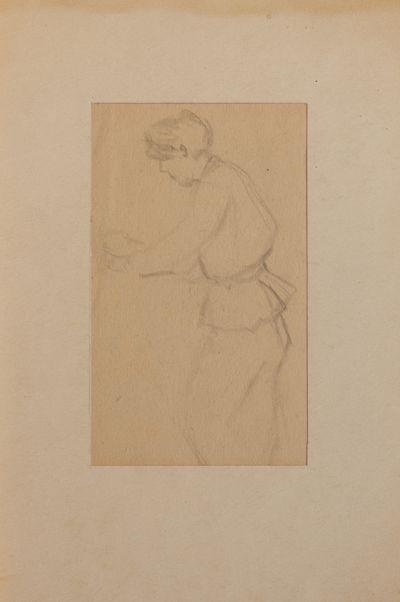 Sketch. Evsey Reshin