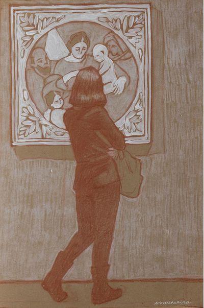 In Museum. 1. Elena Novozhenina