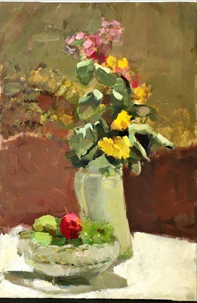 Цветы и фрукты. Инна Медникова