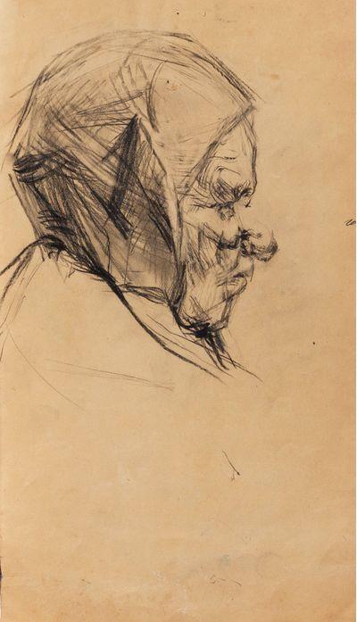 Портрет старушки. Неизвестный художник