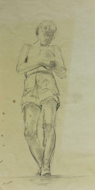 Boy. Sketch to the Painting. Viktor Konovalov